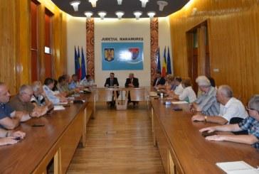Sedinta privind reorganizarea C.J.S.U. Maramures