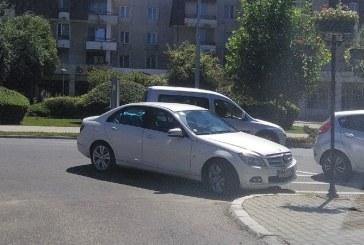 In Baia Mare, nesimtirea circula cu Mercedes!!!
