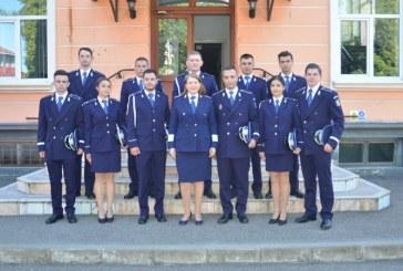 11 absolventi, la inceput de cariera in cadrul IPJ Maramures