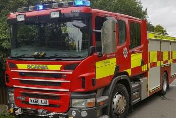 Pompieri britanici, care au salvat dintr-un incendiu 18 purcei, i-au primit in dar… sub forma carnati