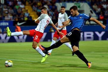 FC Viitorul, la un pas de eliminarea din Europa League, dupa 1-3 cu Red Bull Salzburg
