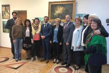 O delegatie a Parlamentului European a efectuat o vizita in Maramures