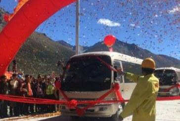 China a inaugurat tunelul rutier aflat la cea mai mare altitudine