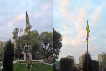 Baia Mare: Tristetea unui drapel abandonat de autoritati…