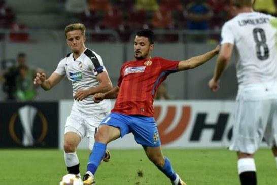 Victorie importanta pentru FCSB, 2-1 in Israel cu Hapoel Beer Sheva, in Europa League