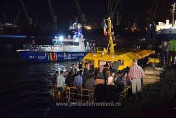 Constanta: Numar record de migranti clandestini sositi in Romania