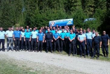 Jandarmii maramureseni, activitate de pregatire in domeniul montan