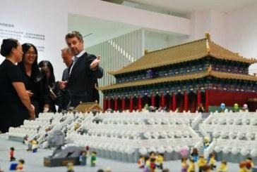 Peste 500.000 de piese Lego pentru a recrea Orasul Interzis de la Beijing