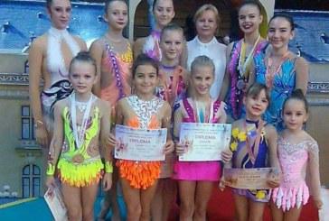"""Gimnastica ritmica: 20 de medalii pentru LPS Baia Mare la """"Trophy Iasi"""""""