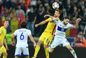 Romania a invins greu Armenia, cu 1-0, in preliminariile CM 2018