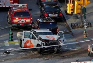 Atac presupus terorist la New York: Un vehicul a intrat in multime si a facut mai multe victime