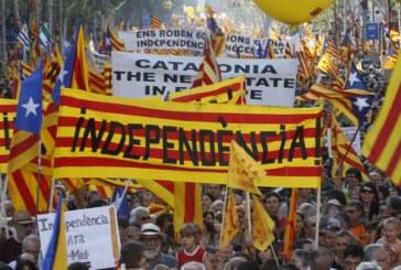 Sustinatori ai independentei Cataloniei au protestat la Bruxelles cerand UE sa 'apere democratia' in Spania
