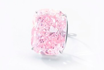 Cel mai mare diamant roz din lume, estimat la 30 de milioane de dolari, scos la licitatie in noiembrie