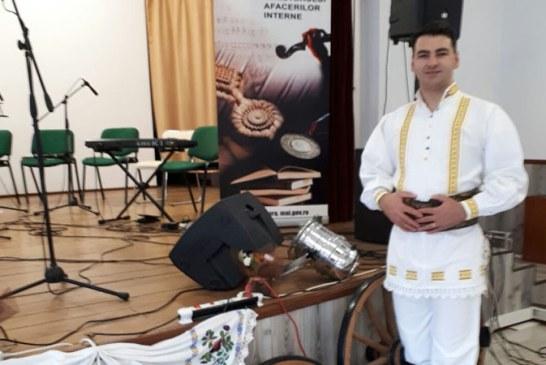 Un politist maramuresean a obtinut locul I la Festivalul National al Artistilor Amatori din MAI