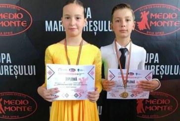 Dans sportiv: Medalii pentru Galactic Dance la Cupa Maramuresului