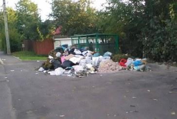 De la cititori: Probleme de pe strada Oltului, semnalate de un cetatean (FOTO)