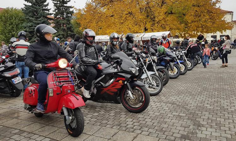 VIDEO/FOTO: Parada moto, in Baia Mare. Final de sezon pentru iubitorii de