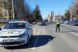 Peste 150 de sanctiuni contraventionale aplicate ieri de politistii rutieri maramureseni