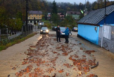 Inundatii in Baia Sprie (FOTO)