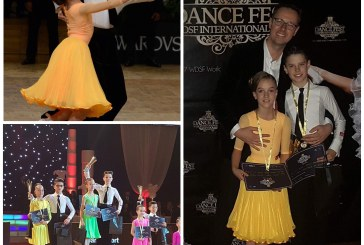 Dans sportiv: Aur pentru Alex si Maya Rusu la Dance Fest 2017 – Campionatul Mondial de Juniori 2 Latino