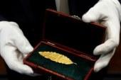 O frunza de aur din coroana lui Napoleon, vanduta la licitatie cu 625.000 de euro