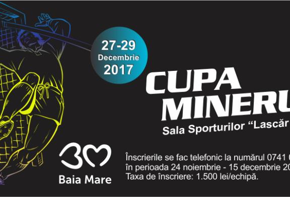 Fotbal: Cupa Minerul va avea loc in 27-29 Decembrie