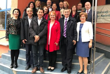 Reprezentantii Institutului Confucius din Cluj – Napoca, discutii la ISJ Maramures