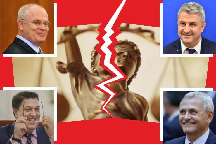 Coalitia PSD-ALDE isi doreste cu orice pret sa detina monopolul absolut in justitie!