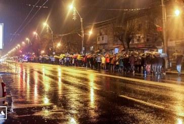 "Baia Mare, din nou in strada: ""Justitie, nu coruptie!"""