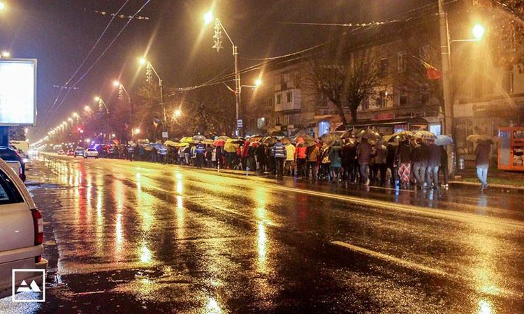 Baia Mare, din nou in strada: