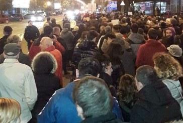 Legile Justitiei: Aproximativ 600 de persoane protesteaza in Baia Mare (VIDEO&FOTO)