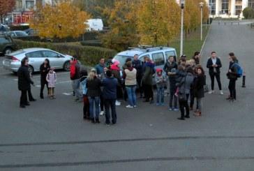 Inotul baimarean, in dificultate: Protest la Bazinul Olimpic din municipiu (FOTO)