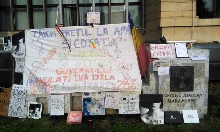 Greva foamei – noul trend al protestului civic baimarean!