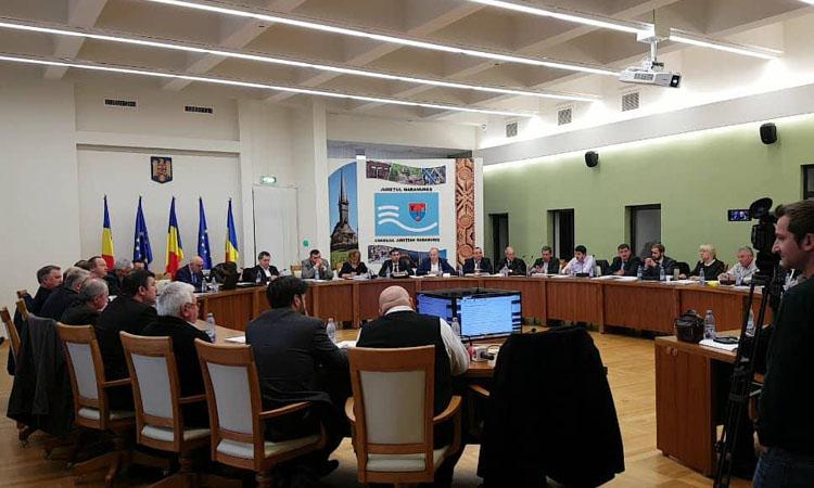 Bugetul de venituri si cheltuieli al judetului Maramures aprobat in sedinta Consiliului Judetean