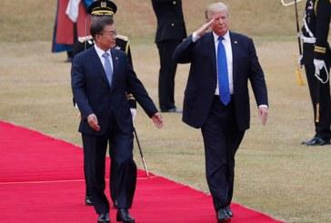 "Trump promite in Coreea de Sud ""sa rezolve totul"" in ce priveste politica fata de Phenian"