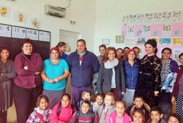Scoala din cadrul comunitatii de romi din Ticau, reabilitata