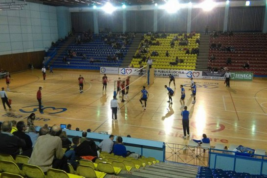 Volei masculin: Stiinta Explorari – Universitatea Cluj-Napoca 3-2