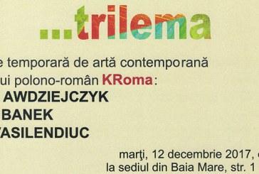 Vernisajul expozitiei de arta contemporana …Trilema, la Muzeul Judetean de Arta Baia Mare