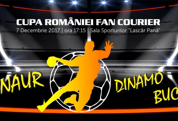 Handbal masculin: Minaur vs Dinamo. Detinatoarea Cupei Romaniei vine la Baia Mare