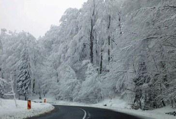 Circulatie rutiera in conditii de iarna pe drumurile din judet