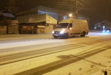 Atentie conducatori auto! Drumuri alunecoase in Baia Mare