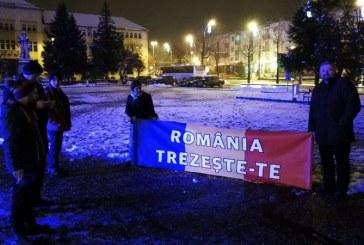 Protest in Piata Revolutiei din Baia Mare. Vezi motivul (FOTO)