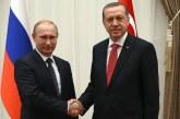 Erdogan si Putin anunta un nou summit la Soci, in Rusia, pentru rezolvarea conflictului sirian