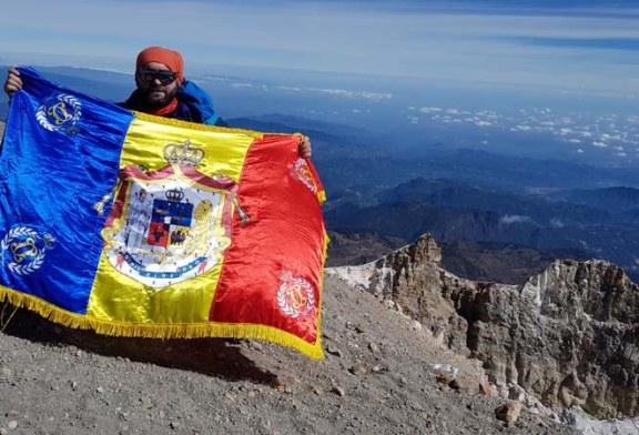 Cristian Niculescu Tagarlas, omagiu Regelui Mihai de pe pe cel mai inalt vulcan din America de Nord