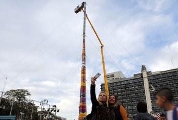Israel: Un turn din Lego de 36 de metri, candidat la Cartea Recordurilor