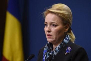 Carmen Dan catre Iohannis: Ghinion, domnule presedinte, dar doamna premier nu va demisiona!