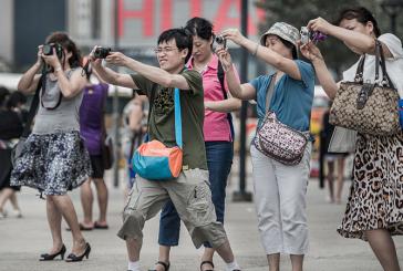 Turistii chinezi invadeaza Europa