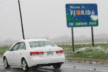Val de frig in SUA: A nins in Florida dupa 29 de ani