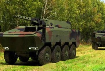 Primul transportor blindat 8×8 AGILIS va iesi pe poarta uzinei de la Moreni in anul 2020