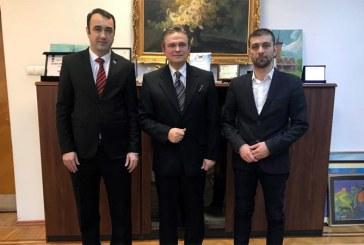Intalnire de lucru intre presedintele Uniunii Nationale a Patronatului Roman si reprezentantii judetului Maramures